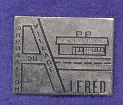 City of Saint Alfred Quebec Canada Fire Department Emergency Rescue Lapel Pin