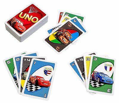 Disney Pixar Cars 2 Card Toy Playing Mcqueen Birthday Gift Boys Pocket Fun Game