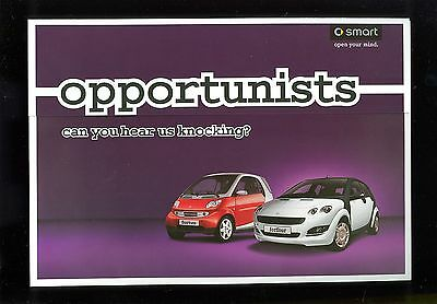 2006 Smart Fortwo & Forfour Special Offers Leaflet