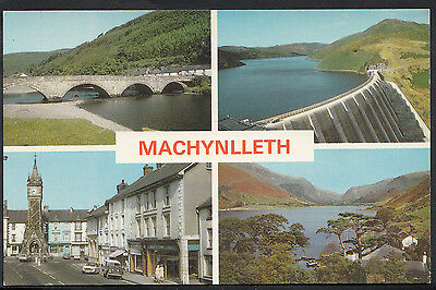 Wales Postcard - Views of Machynlleth   DR282