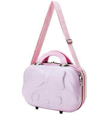 Rare Japan Limited My Melody Mini Travel Luggage Carry Bag Suitcase Pink Sanrio