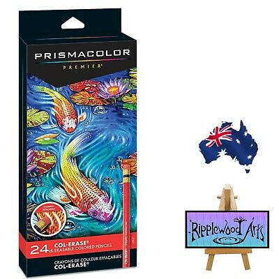 Prismacolor Premier COL-ERASE Erasable Colored Pencils - 24 Pack