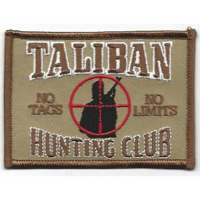 Taliban Hunting Club Desert Patch