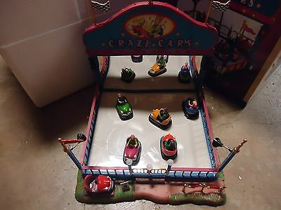 Lemax Village Collection Crazy Cars As-Is 1065