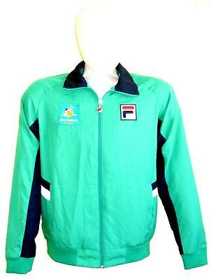 FILA BNP PARIBAS TENNIS OPEN OFFICIALS JACKET GREEN Adult-XS =Kids-L rare-ticket