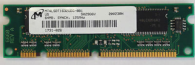 MEM2600XM-64D 64MB DRAM Memory Cisco Approved 2600XM Original Genuine 15-4508-01