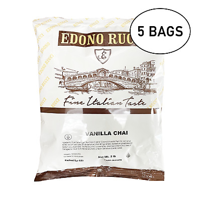 Vanilla Chai Tea Latte Powder Mix 5 X 2 Lb Bags 12 Lbs  Freshly Made
