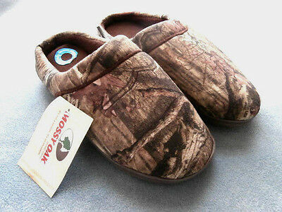 Mossy Oak Break-Up Infinity Mens Slip On Memory Foam Slippers Clogs - You Choose