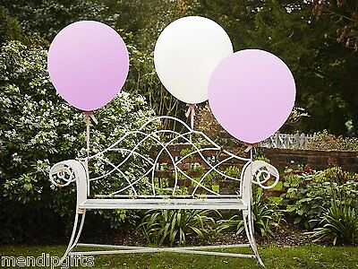 "Giant Pink White 36"" Extra Large Feature Balloons Boho Wedding Party Decorations"