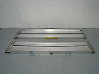 Metal Portable Mobility Scooter Wheelchair Access Ramps - 2m long