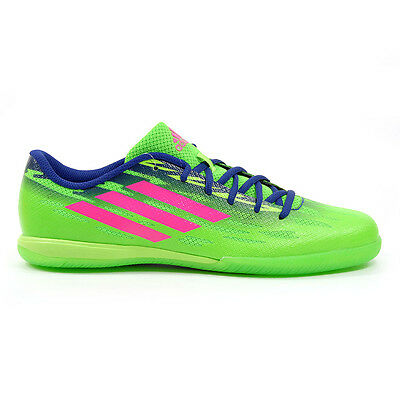Adidas FreeFootball FF Speedtrick Solar Green Indoor Soccer Shoes M19965 NEW!
