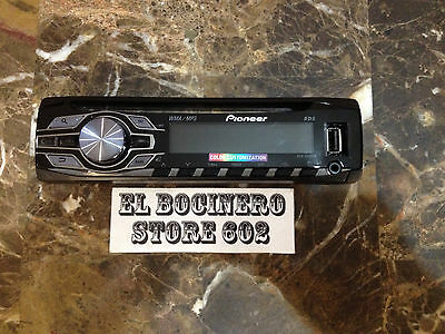 PIONEER DEH-3400UB  *** STEREO FACEPLATE ONLY ***  AM FM USB CD AUX MP3