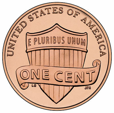 2016 P&D mint New Shield Pennies  TWO COIN Penny Cent -Ck ship disc