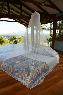 Travel Mosquito Net. Round. Queen. Untreated/treated