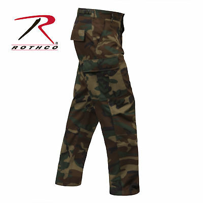 Rothco Bdu Pants Woodland Camo Military Style Army  Gargo  Sizes Small To 6X