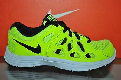 Nike Fusion Run 2 Boys Running Shoes 599802 700 Volt//Black NIB See Sizes
