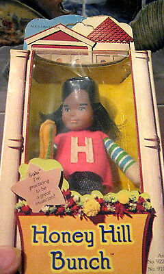 MINT+NEWinBOX~1975~Mattel VINTAGE~NRFB~HONEY HILL BUNCH~SOLO~Band on Head~SWEET