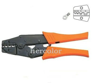 NEW 0.5-16mm² For Non Insulated Terminals Ratchet Crimping Plier