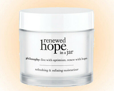 Philosophy Renewed Hope in a Jar 2.0 OZ - Re-Energize Your Skin.Whipped NIB