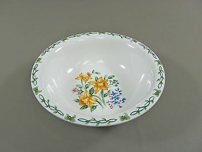 Thomson Pottery FLORAL GARDEN-DAFFODILS Soup/Cereal Bowl(s)Multi Avail Excellent