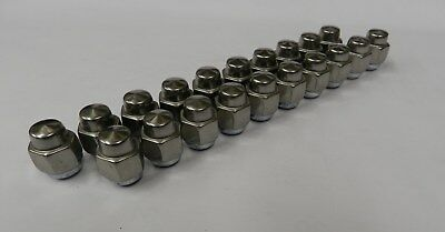 1969 1970 1971 1972 Cutlass 442 SS II SS III Set of 20 Stainless Capped Lug Nuts