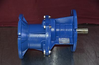 Motovario HFA51 Single Stage Flange Mounted Coaxial Helical Gear Reducer 2.94:1