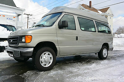 Ford : E-Series Van XLT 2007 ford e 150 xlt braun lift high top wheelchair van one owner super low miles