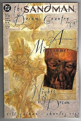 Sandman #19 - Error Version - Charles Vess Art & Cover - Neil Gaiman - 1990