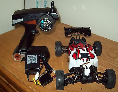 Slightly Used Dromida 1/18 BX4.18 RTR Electric Buggy 2.4GHz w/ Battery & Charger