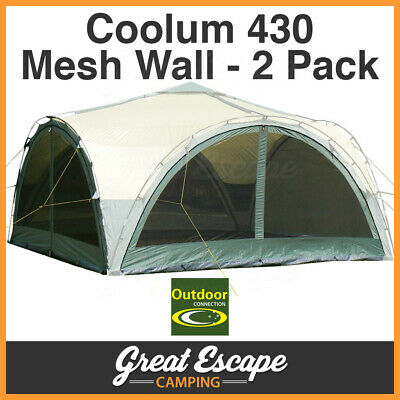 2 x Outdoor Connection Coolum 430 Mesh Walls (walls only)