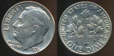 United States, 1979 Dime, Roosevelt - Choice Uncirculated