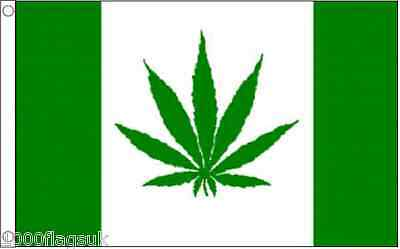Canada Cannabis Leaf Marijuana Green Variant 5'x3' Flag