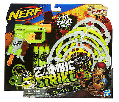 Nerf N-Strike Elite Zombie Strike Target Set