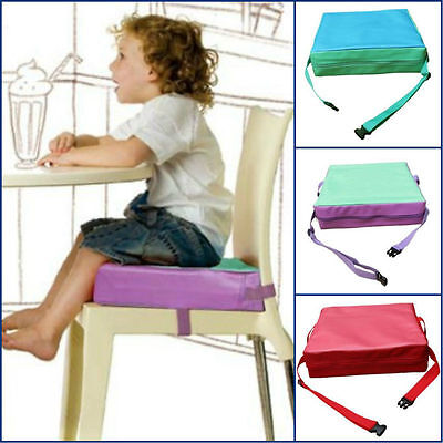 "New Child Big Kids Portable Chair Booster Seat Cushion Floor Seat Pad 3"" Thick"