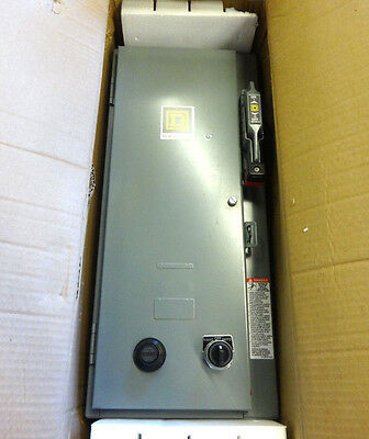 New In Box Square D 8538Sbg61V80Cf4Tx11 Ac Combination Motor Starter