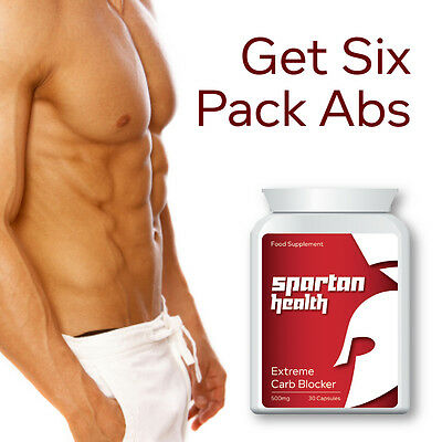 Spartan Health Extreme Carb Blocker Pills Block Carbs Stop Fat Get Ripped
