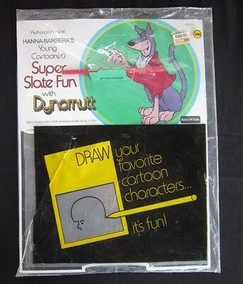 SUPER SLATE FUN MAGIC SLATE Dynomutt Mint in Bag Rare 1972