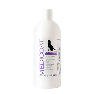 Medicated Dog shampoo for common skin issues - itchy, dry, flaky skin & dandruff