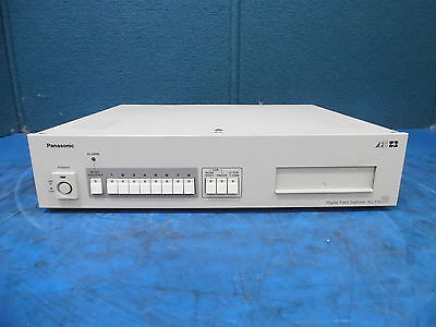 Panasonic Video Multiplexer Model Wj-Fs20 Sn: 62A01072 *For Parts Only*
