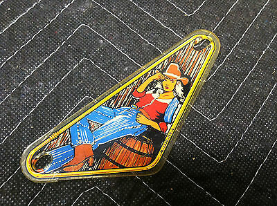 Bally Eight Ball Deluxe Pinball Machine Playfield Right Plastic Slingshot