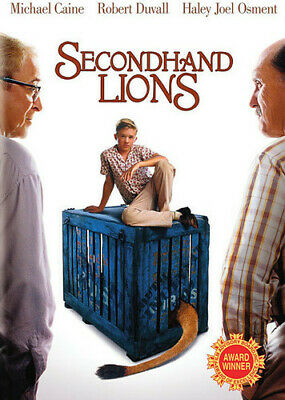 [Dvd Ntsc/1 New] Secondhand Lions
