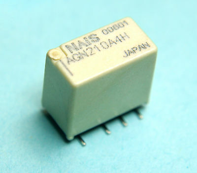 1pc Panasonic  1A DPDT 4.5 VDC Latching  SMT SMD General Purpose Relay