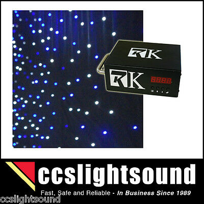 LED DMX STAR CURTAIN 3M x 3M BLUE AND WHITE LED'S WITH CONTROLLER