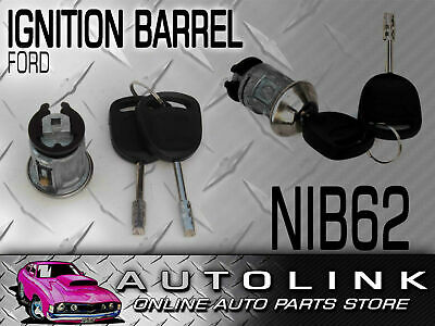 Ignition Barrel + 2 Keys Suit Ford Xg Xh Utility (Without Anti Theft System)
