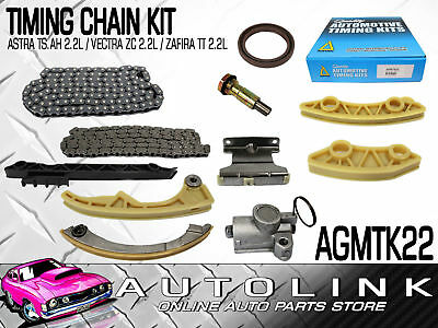 TIMING CHAIN KIT TO SUIT HOLDEN ASTRA TS AH 2.2lt 4CYL / VECTRA ZC 2.2lt 4CYL