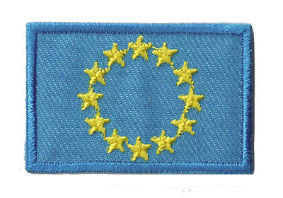 Ecusson thermocollant Europe Union Européenne patch petit 45x30mm