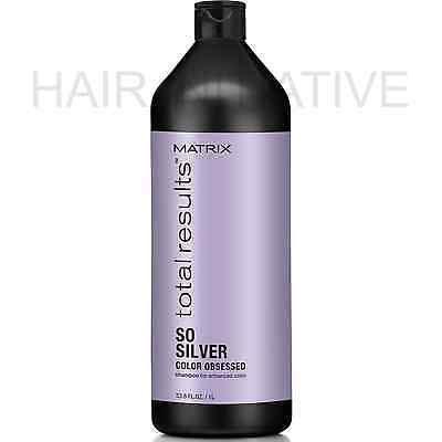 Matrix NEW Total Results Color Obsessed So Silver Shampoo 1000ml