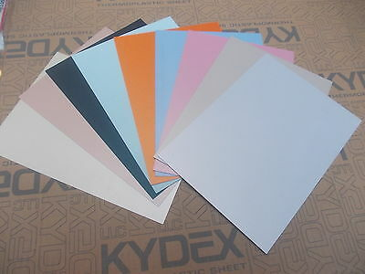 0.76 mm A4 KYDEX XD 3D Laminate sheet 297 mm x 210 mm, Models-arts & crafts etc