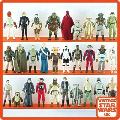 Vintage Star Wars - Return Of The Jedi Original Loose Action Figures ROTJ