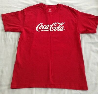 COCA-COLA Red T-Shirt size M